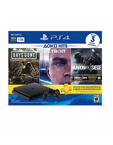 Consola Playstation 4 1TB Slim Bundle Hits 5