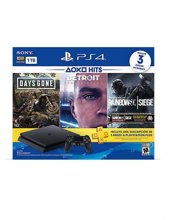 Consola Playstation 4 1TB Slim Bundle Hits 5