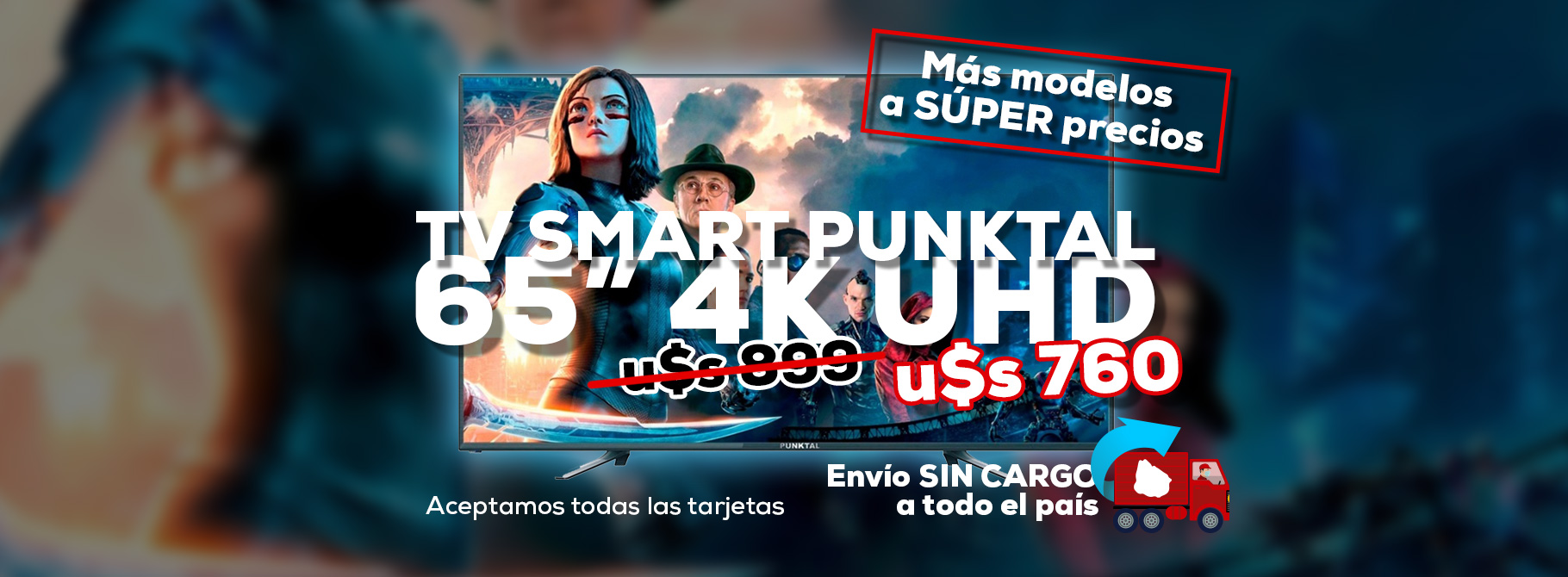 banner smart tv punktal